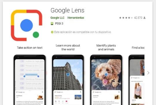 buscar imágenes desde el móvil online