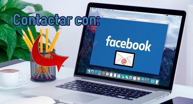 contactar con el soporte de facebook