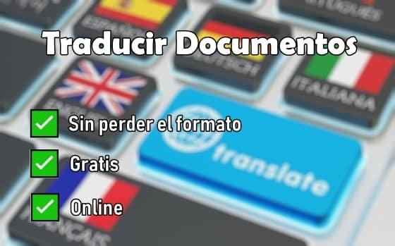 traducir documentos pdf sin perder el formato