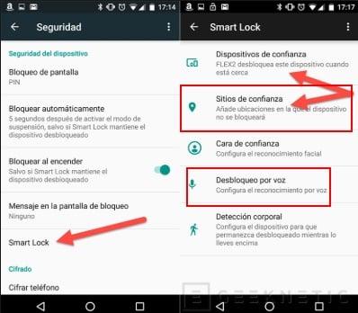 pasos para activar smart lock