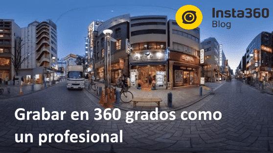 grabar videos 360