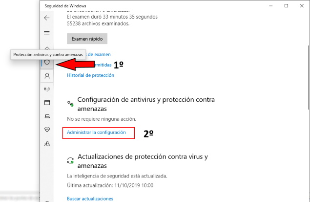 apagar windows defender