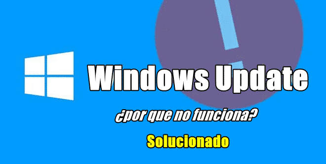 solucion al fallo de windows update